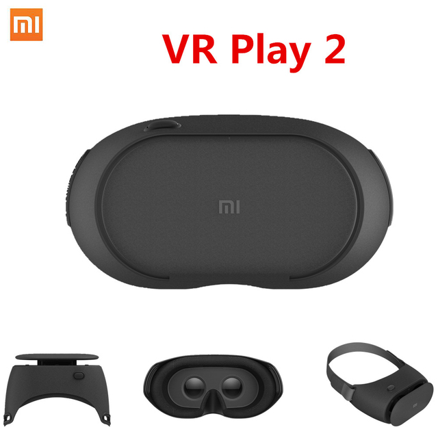 Newest Original Xiaomi VR Play 2 Original Mi VR Virtual Reality Glasses 3D Glasses For 4.7-5.7 inch Smart Phones 2017 VR 2.0 BOX