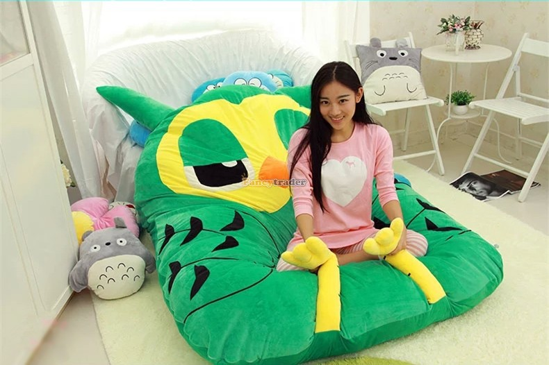 Fancytrader Fashion High Quality Owl Bed 215cm X 160cm Giant Huge Owl Bed Carpet Sofa Tatami, Great Gift! Free Shipping FT90346