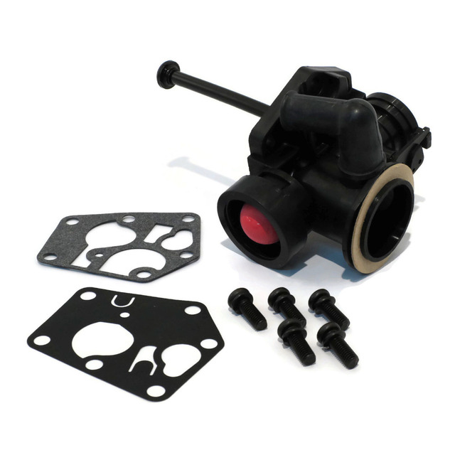 US $13 28 10% OFF|Fuel GasTank Rubber Carburetor Gasket Repair Rebuild Kit  for Briggs Stratton 499809 498809A Carb Garden Power Tools Small Engine-in