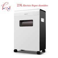 Precio Trituradora de papel eléctrica automática Oficina 23L volumen papel trituradora tipo cajón 9903
