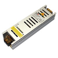 Non waterproof power supply Sanpu AC 110 240V DC 12V 5A 60W Switching Power Supply Silver