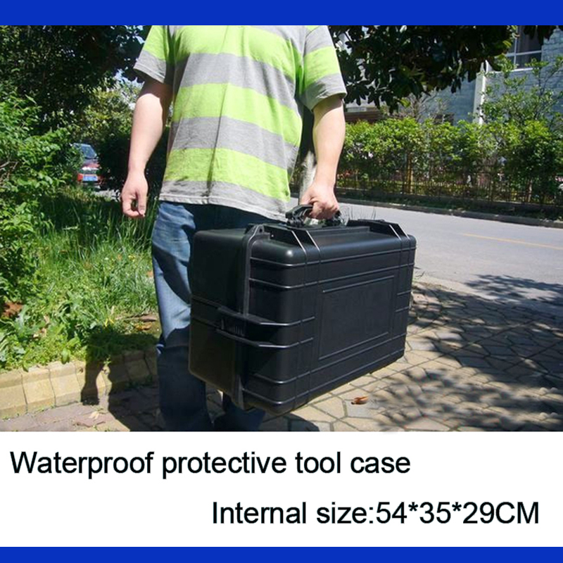 Tool Case Toolbox Travel Case Impact Resistant Sealed Waterproof Camera Case Protective Suitcase With Pre-cut Foam Lining