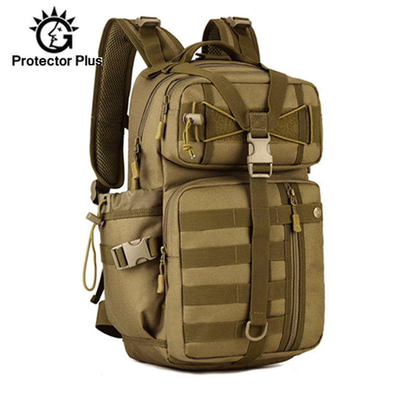 30L Men Tactical Backpack Waterproof Army Shoulder Military Rucksuck Hunting Camping Multi-purpose Molle Hiking Travel XA39D