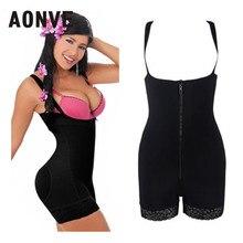 Bodysuit Women Slimming Underwear Full Body Corset Shaper Waist Trainer  Modeling Strap Shapewear Belly Slimming Sheath 7461f76f8