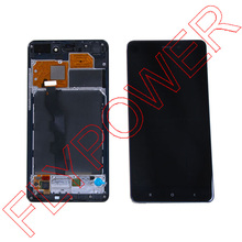 For XiaoMi NOTE HD 5.7 inch LCD Display +Digitizer touch Screen with Frame Assembly black by Free Shipping;100% Warranty