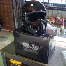 Tt co thompson casco para hally casco de motocicleta de la vendimia pequeño casco de la motocicleta