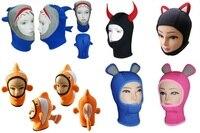 Scubatec جديد 3 ملليمتر دافئ النيوبرين الغوص غطاء خوذة الحيوان الكرتون الحيوان قبعة الغوص هود الغواصين مخصصة متعددة الألوان