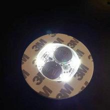 30 ピース/ロット超高輝度 3 ミリメートル 6 Led フラッシュ電球ボトルカップマットコースター LED 栄光ミニグロースティック f/クラブバーパーティー ホワイト