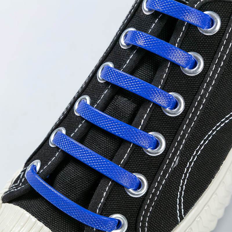 16pcs/lot No Tie Shoelaces Silicone Shoe Laces Kid Adult Special Running Elastic Shoelace Men Women Sneakers Lacing Rubber
