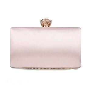 Image 2 - Luxy Moon pochette de soirée pour femmes, pochette strass, sacs à main pour dames, sacs à main avec portefeuille de fête de mariage, ZD848