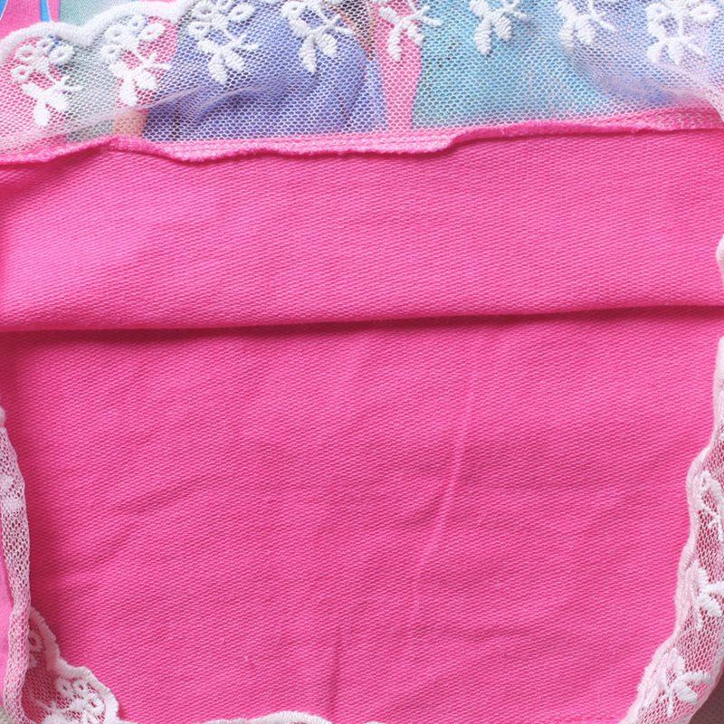 Elsa Anna long sleeve t shirt lace 1-8