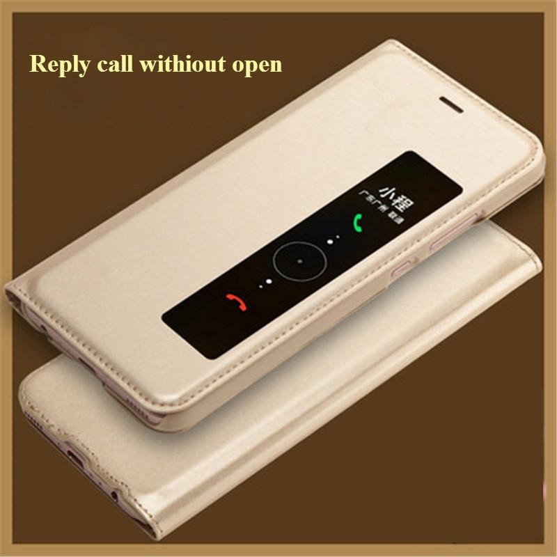 SHYPHIXV PU Flip Funda de cuero para Huawei P10 5.1 Inch Case con - Accesorios y repuestos para celulares - foto 2