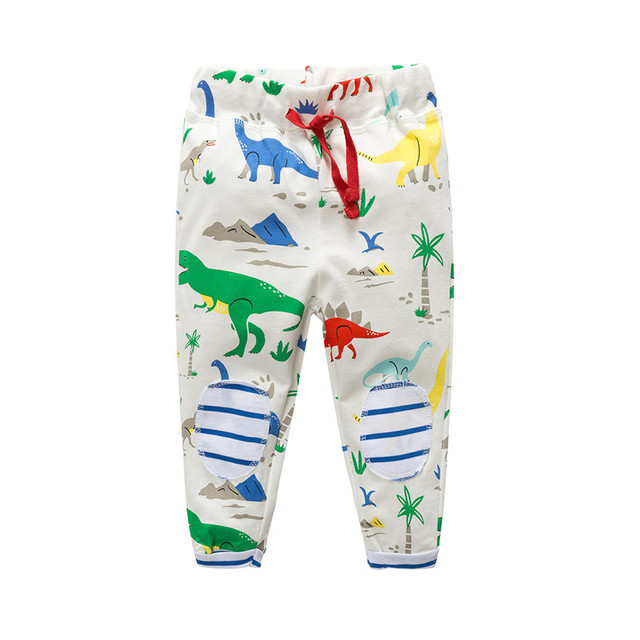 8d00fa4534f40 Jumping meters baby boys spring autumn pants kids cute cartoon pants with  printed lovely animals hot selling boys pants top