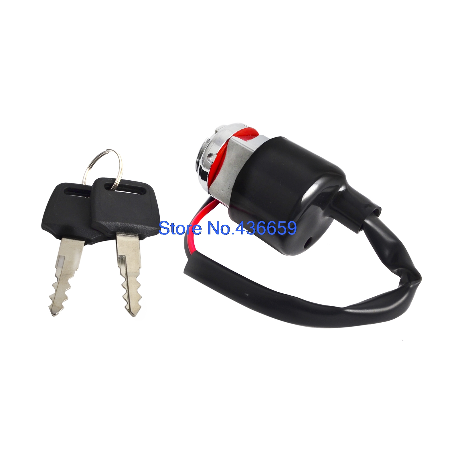 small resolution of ignition switch with 2 keys 2 wire for honda cb100 super sport 100 cb125 cl70 cl90