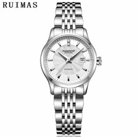 Zegarek Damski Fashion Woman Gold Watch 2018 Mechanical Women Watches Luxury Classic Ladies Wrist Watches RUIMAS Female Clock