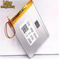 1 0 MM 3pin stecker 347594 3 7 v 4000 mah polymer lithium-ionen Batterie Ersatz Tablet PC Batterie für tablet pc 7 zoll