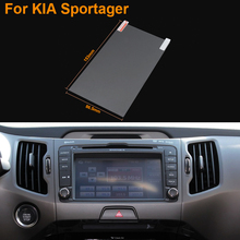 Car Styling 7 Inch GPS Navigation Screen Steel Protective Film For Kia Sportage R Control of LCD Screen Car Sticker