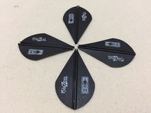 Free shipping 120pcs  2″blazer Vane black for DIY arrow Archery outdoor hunting