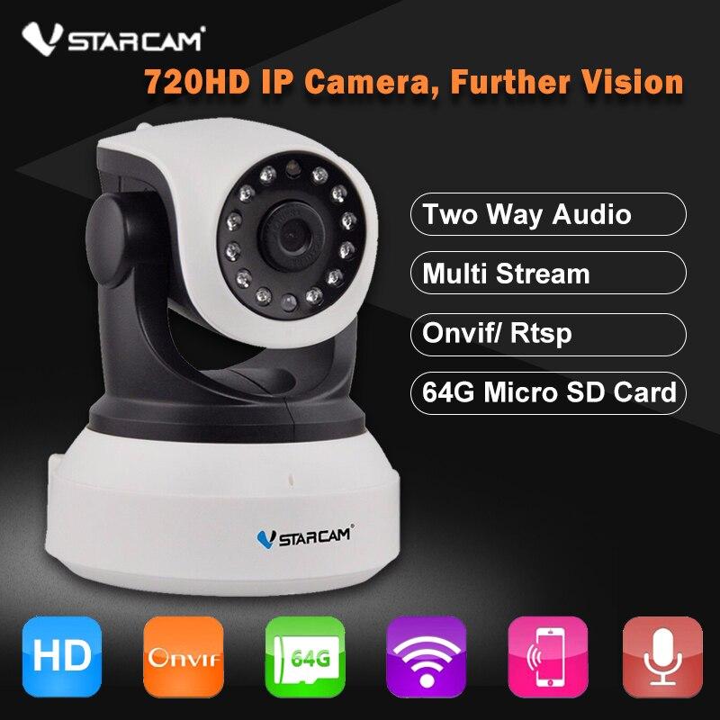 bilder für Vstarcam c7824wip hd 720 p wireless-sicherheit ip-kamera wifi onvif nachtsicht audio-aufnahme überwachung cctv netzwerkkamera