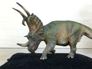 Image 3 - PNSO Spinops Centrosaurus Styracosaurus Dinosaur Figure Toy Collector Kids Gift