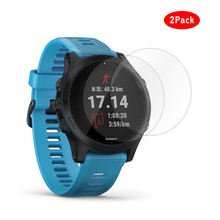 Laforuta for Garmin Forerunner 945 Tempered Glass Screen Protector Ultra-Thin 9H Hardness Scratch Resistant 245