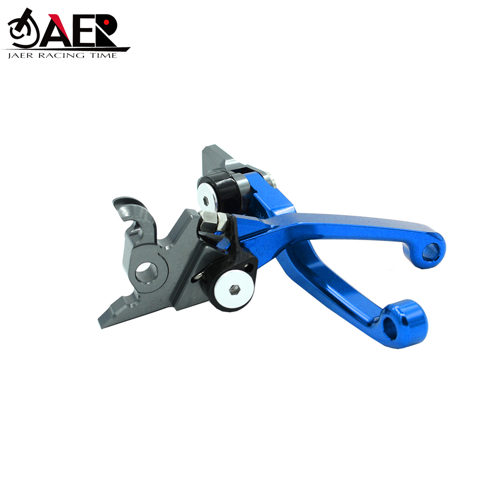 JAER CNC Billet Pivot Foldable Brake Clutch Levers For Kawasaki KLX250 D TRACKER 1993 1994 1995 1996 1997-in Levers, Ropes & Cables from Automobiles & Motorcycles