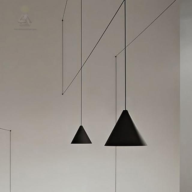 Design scandinavo linea creativa lampada a sospensione soggiorno ...