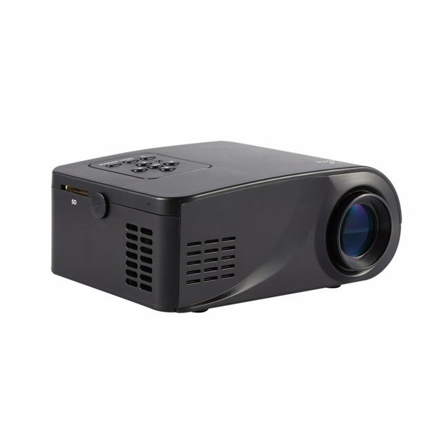 1920x1080 LED LCD Mini Proyector Multimedia Proyector de Vídeo HDMI Libre Proyectores de Cine En Casa