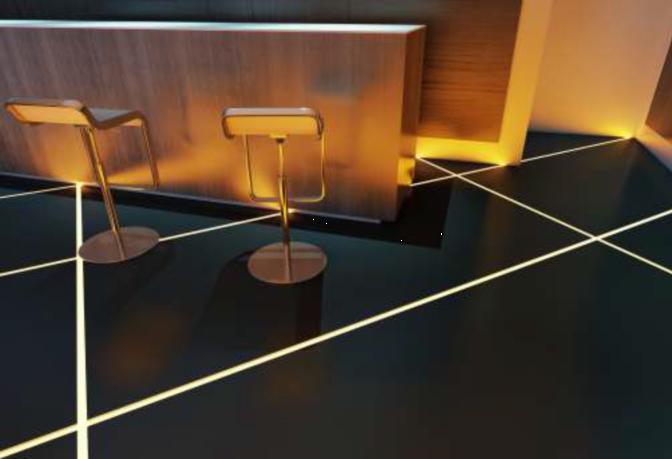 Floor Aluminum Led Strip Profile