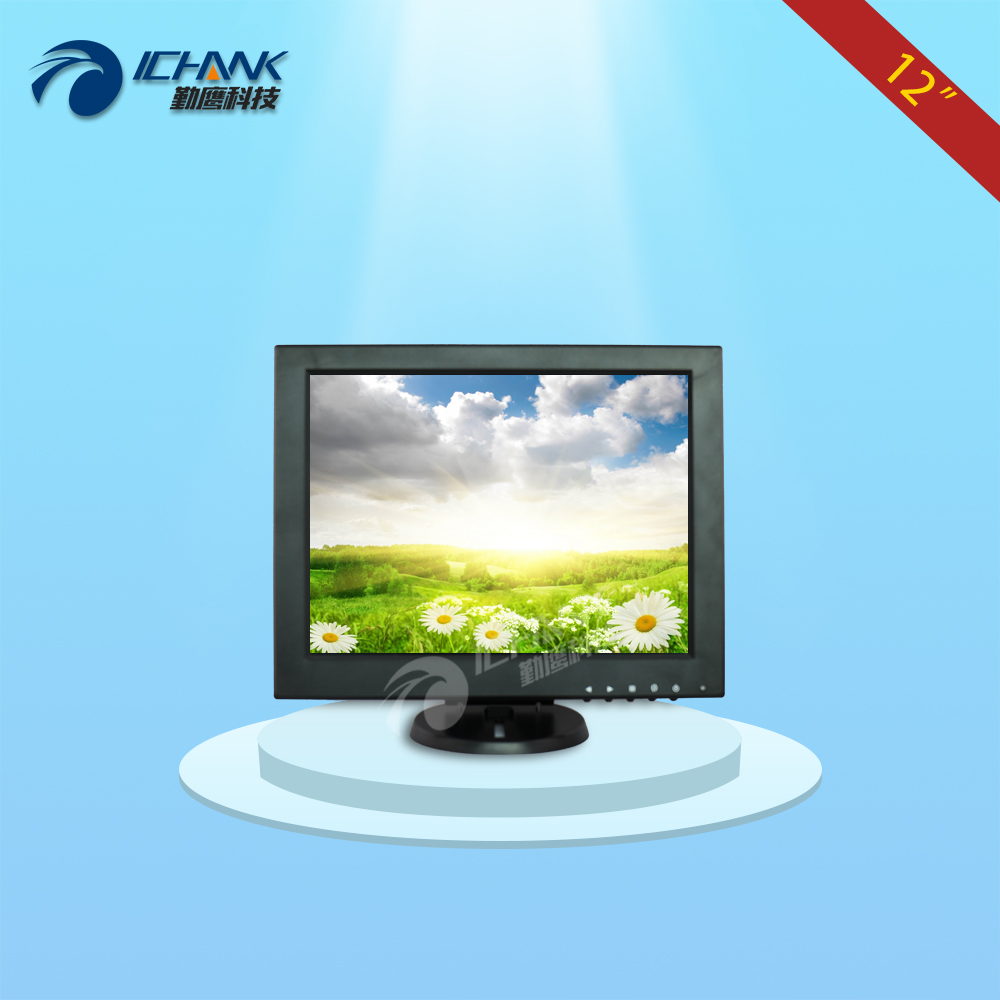 B120JN-ABHUV-2/12 inch monitor/12 inch 1024x768 display/12 inch industrial equipment positive screen monitor/Small HDMI monitor; industrial equipment board pca 6114p10 b rev b1