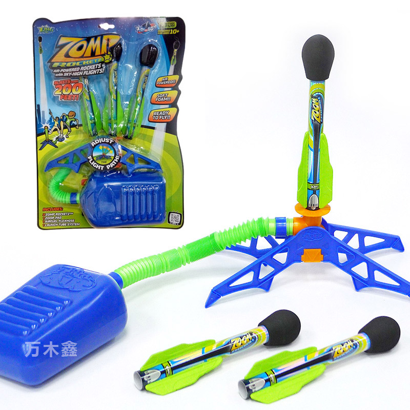New Fun Outdoor Sport Play Toys Zing Kids BUBBLE ROCKET Set Jump Jet Launcher Christmas Gift Stocking Filler Toys For Kid ZB523WNew Fun Outdoor Sport Play Toys Zing Kids BUBBLE ROCKET Set Jump Jet Launcher Christmas Gift Stocking Filler Toys For Kid ZB523W