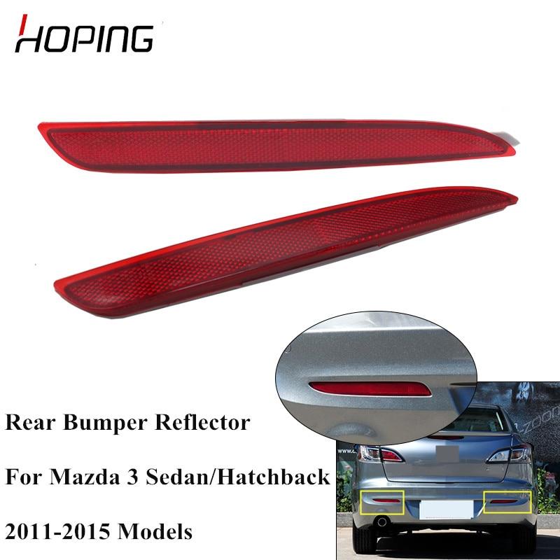for 2011 2012 2013 BMW 5 Series Sedan Rear RR Driver Left LH Bumper Reflector