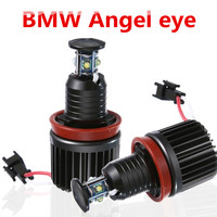 2PCS For BMW Angel Eyes Luz Cree Chips LED 2x40 W H8 Para BMW E60 E61