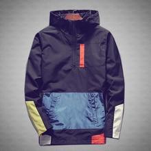 Повседневное Для мужчин Куртки Водонепроницаемый Весна пальто с капюшоном Для мужчин верхняя одежда Повседневное бренд мужской Костюмы плюс Размеры M-5XL