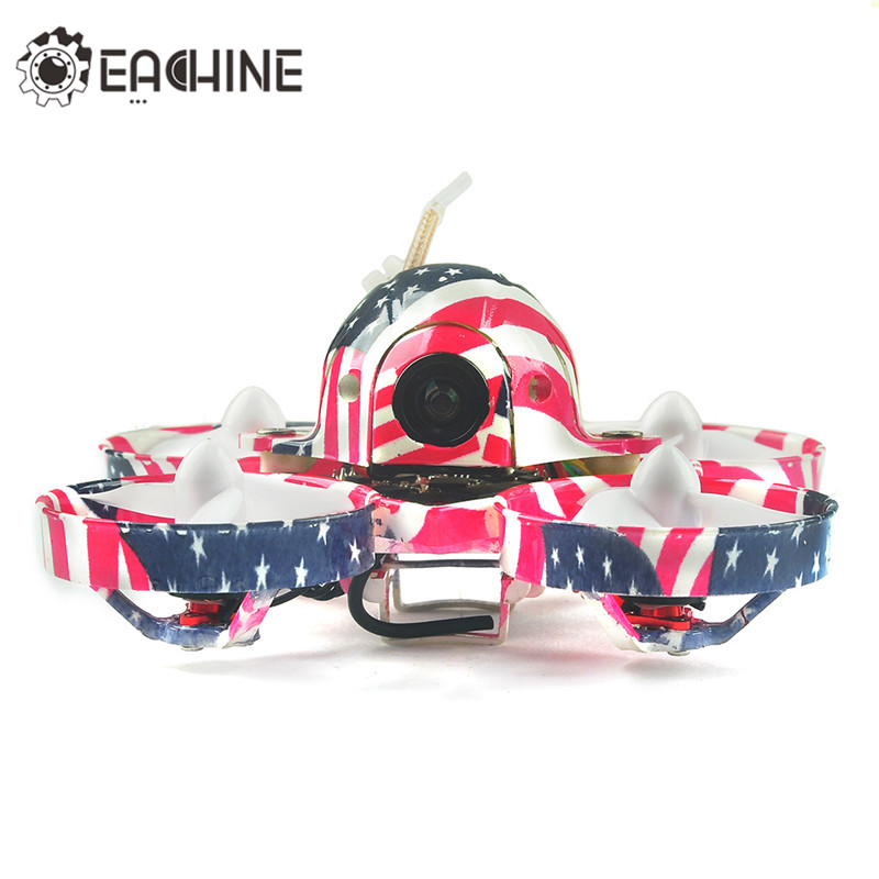 New Arrival Eachine US65 UK65 65mm FPV Racing Drone BNF For Flysky/Frsky Crazybee F3 Flight Controller OSD 6A Blheli_S ESC micro minimosd minim osd mini osd w kv team mod for racing f3 naze32 flight controller
