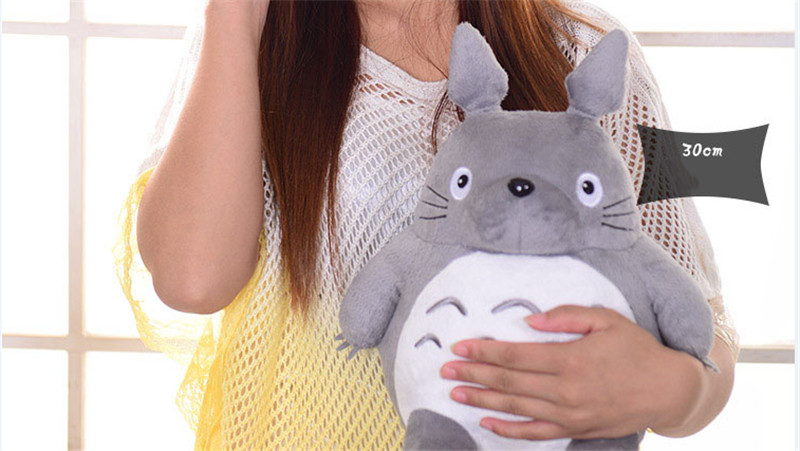 Plush Toy Totoro Cute Soft Stuffed Anime Toys Doll Large Size Pillow Totoro Best Gifts Toys For Children Animation Dolls Gift 12