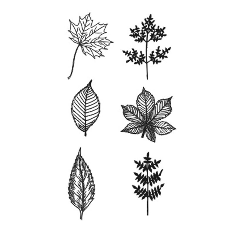 bddc6c8b3211e Wyuen New Hot Waterproof Temporary Tattoo Stickers for Adults Kids Body Art  Leaf P-040
