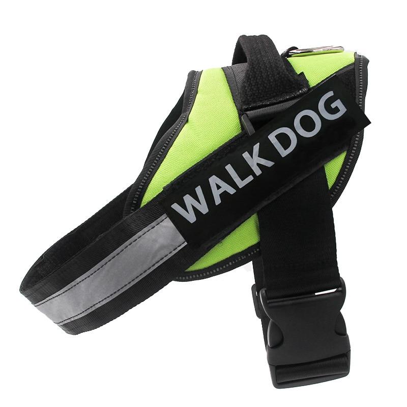 Dog Harness Breathable Pet Harness Vest Dog Collars for Small Medium Big Dog Nylon Dog Lead Belt Pitbull Bull Terrier Rottweiler2