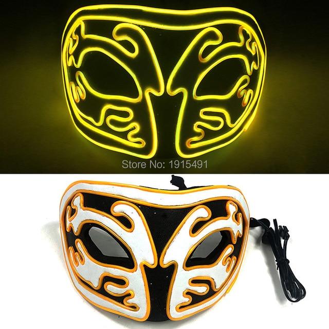 Купить новое поступление светящаяся маска из эва со светодиодной подсветкой картинки