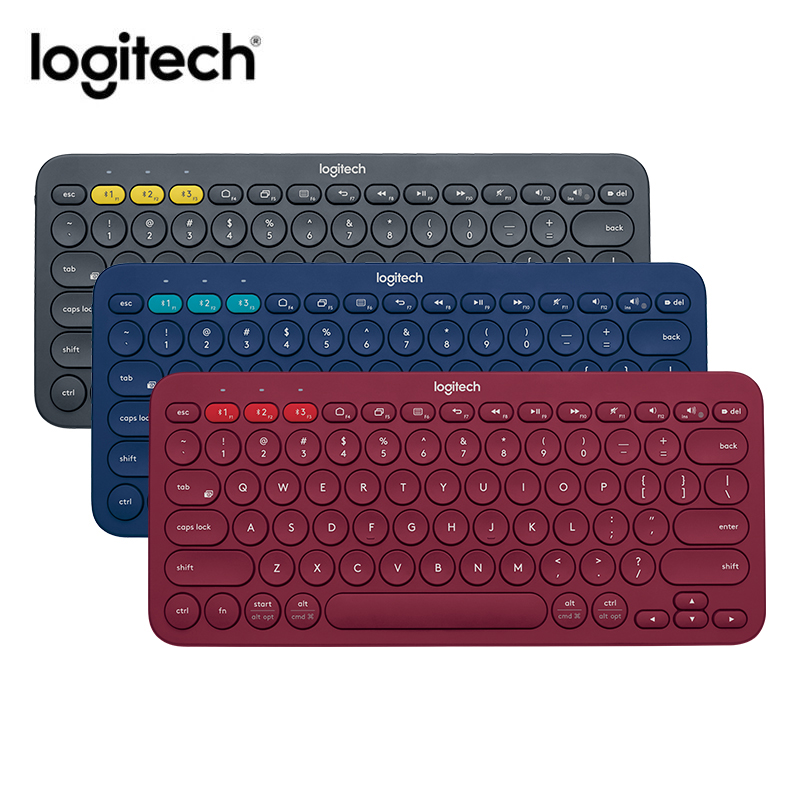 Clavier d'ordinateur Logitech K380 multi-périphériques Bluetooth Ultra Mini clavier d'ordinateur muet