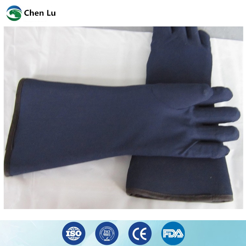 Free shipping x ray protective 0.35mmpb lead gloves Hospital/factory/laboratory nuclear radiation protection medical accessories-in Safety Gloves from Security & Protection    2