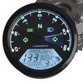 Горячая распродажа универсальный 12000RMP жк-цифровой спидометр пробег тахометр 1 - 4 цилиндры мотоцикла цифровой манометр