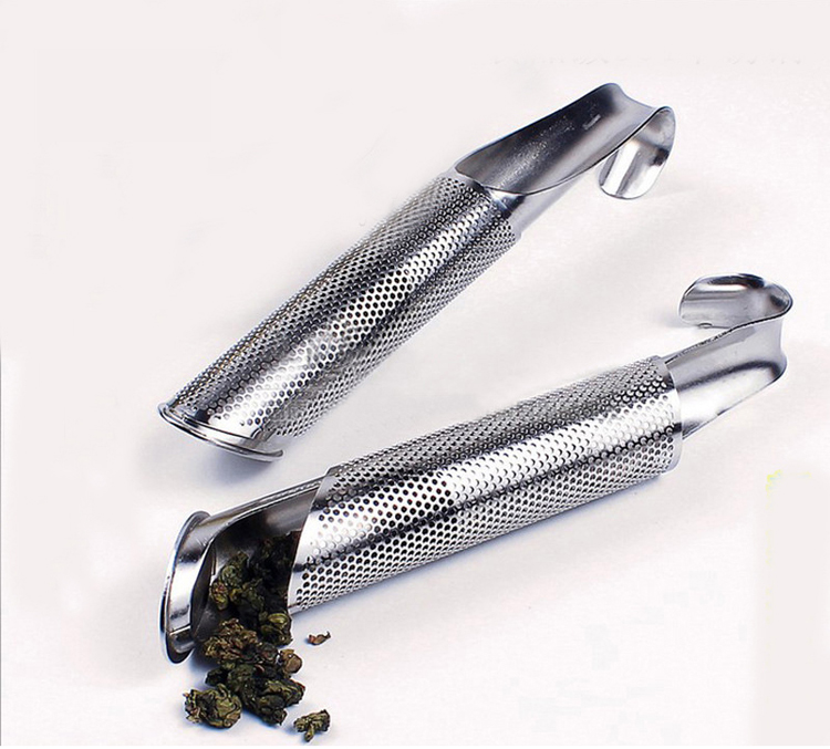 Stainless steel Tea Infuser  Filter Creative Tea Strainer Pipe Design Coffee Tea tools Tea Accessories Infuser Filter For Tea (4)
