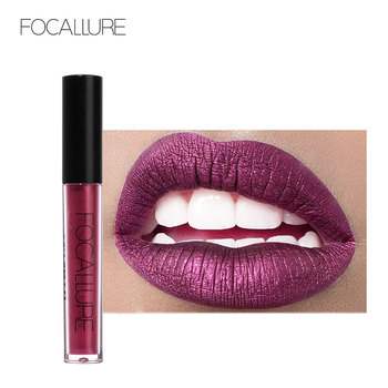 FOCALLURE Matte Lipgloss Sexy Liquid Lip Gloss Matte Long Lasting Waterproof Cosmetic Beauty Keep 24 Hours Makeup lipgloss 1