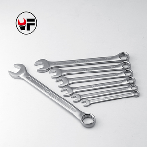 YOFE 8,10,12,13,14,17,19mm Combination box open end Concave rib tool wrench high quality tools gear a set of keys wrench tool