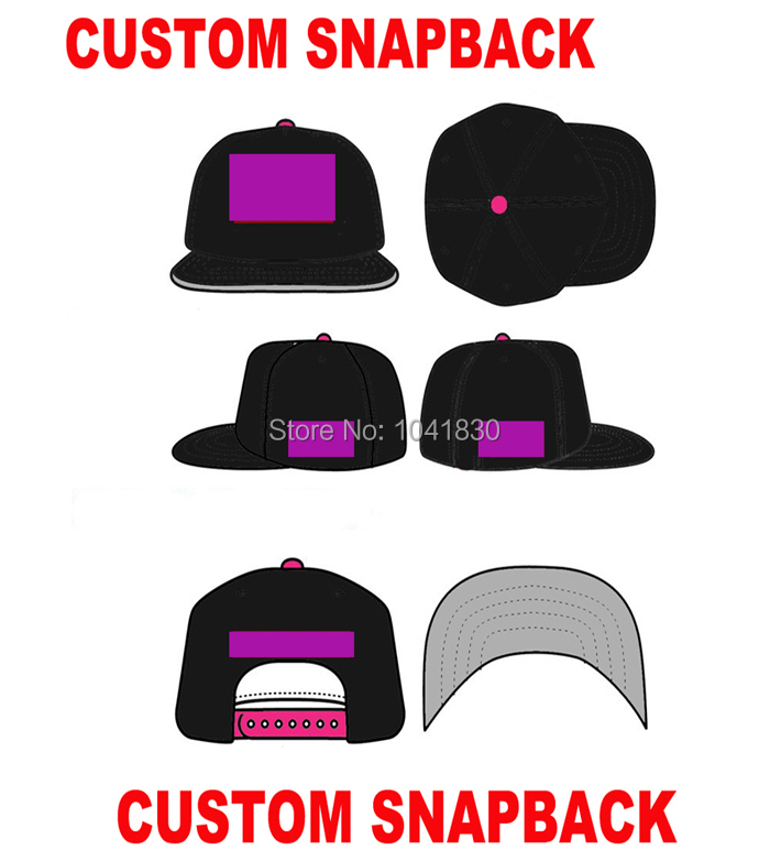 5ad4b42e Cheap Custom Embroidered Snapback Caps Hats OEM Flat bill Hats Wholesale  Free Shipping-in Baseball Caps from Men's Clothing & Accessories on  Aliexpress.com ...