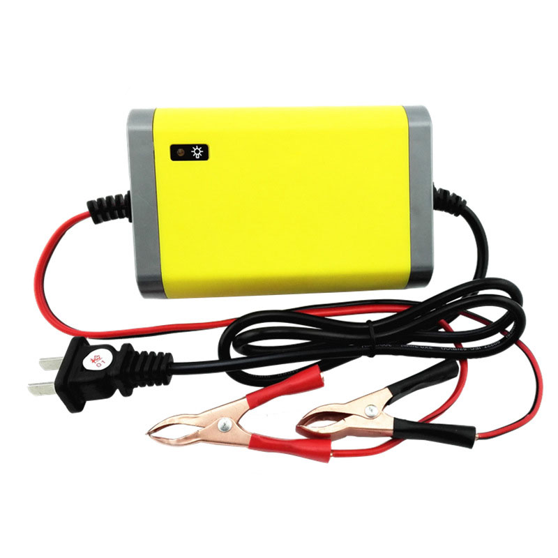 Hot selling Intelligent Auto Car Battery Charger Automatic Power Supply Voltage Rechargeable Battery Power Charger
