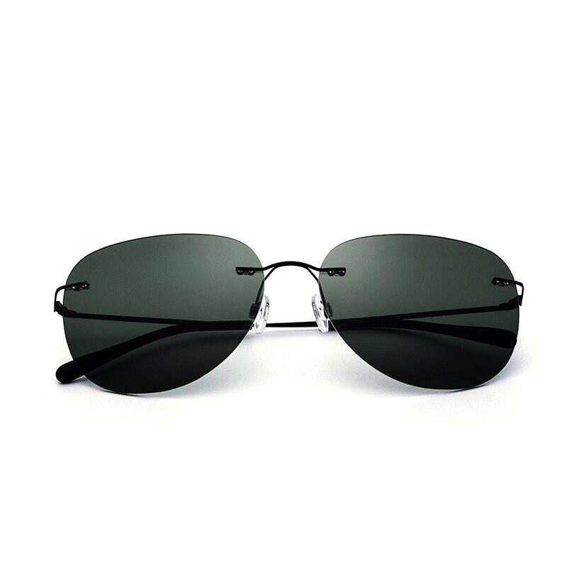 Aleación de Titanio de Los Hombres de Conducción Polarizada gafas de ...