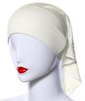 Lady Head Caps Underscarf Muslim Headwear Islamic Hijab Pack Of 4 G32