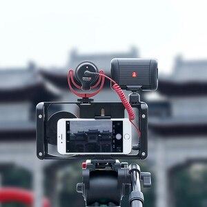 Image 5 - Ulanzi u rig metal handheld smartphone equipamento de vídeo vlog configuração alça aperto estabilizador com lente do telefone para iphone huawei videomakers